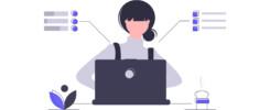 testowanie oprogramowania, obrazek przedstawia osobę podczas testowania oprogramowania